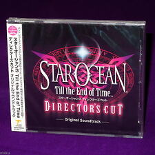 STAR OCEAN TILL END OF TIME DIRECTORS GAME MUSIC CD NEW
