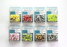 50 NEW 1/8 oz Round Jigheads Jigs Barb Two-tone Seasky Fishing Lures 8 Colors