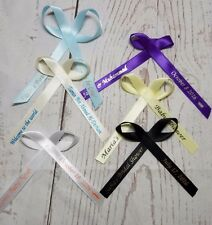 25 Personalized Ribbons Favor Baby Shower Bridal Wedding Baptism Birthday Party
