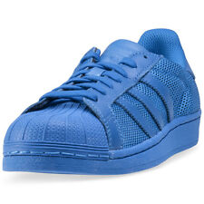 adidas Superstar Unisex Trainers Blue New Shoes