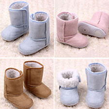 Infant Baby Fall Winter Warm Snow Boots Soft Shoes Sole Anti-slip Crib Prewalker