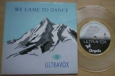 ULTRAVOX WE CAME TO DANCE (CLEAR) 7
