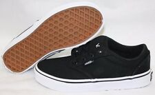 NEW Boys Girls Kids Youth VANS Atwood Low Black White Classic Sneakers Shoes