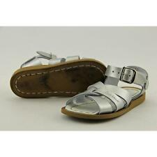 Sun-San Saltwater Sweetheart Toddler US 6 Silver Sandals Pre Owned  1800
