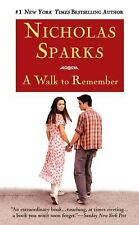 A Walk to Remember by Nicholas Sparks (2000, Paperback