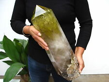 28.74lb HUGE NATURAL Citrine quartz crystal point healing
