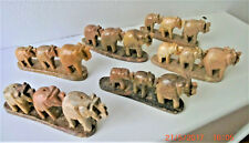 Soapstone elephant incense holder without/with Spiritual sky incense sticks