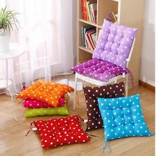 Indoor Outdoor Dining Garden Patio Chair Seat Pad Dots Cushion Gift 8 Colors