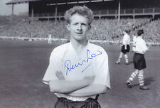 HAND SIGNED 12x8 PHOTO HUDDERSFIELD 1957 DENIS LAW