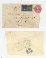 oldhal-Boston, Ma/Special Delivery/E-5 Stamp/1901 to Wakefield, Ma