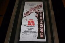 THE BIG BUS 1976 AUSTRALIAN ORIGINAL DAYBILL MOVIE POSTER IN NEAR MINT COND