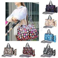 New Waterproof Baby Diaper Nappy Changing Bag Large Mummy Tote Shoulder Handbag