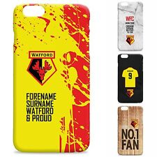 Personalised Watford FC Football Club Phone Case Cover for iPhone Samsung