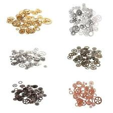 Gear Jewelry Charms Wheel Steampunk Charms Pendant for DIY Jewelry Making 100g