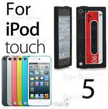 Fits,iPod Touch 5 case,5th Gen Cover,Compatible For Apple,Retro Tape Cassette