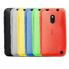 Fosmon TPU Rubber Gel Soft S Shape Protector Case Cover Skin for Nokia Lumia 620