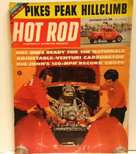 VINTAGE COLLECTORS HOT ROD MAGAZINE September 1964 Willys & More!!!