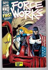 Force Works #1 July 1994 Marvel Comic Book Premiere First Issue