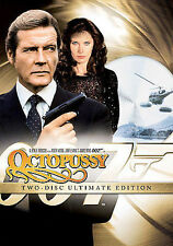 007 OCTOPUSSY JAMES BOND (DVD) NEW SEALED ULTIMATE