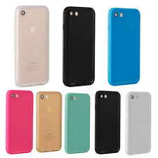 Fit for iPhone 8 7 Waterproof Full Body Front Back Soft Slim Case Cover Shell