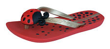 Ipanema Lady Bird Kids Flip Flops / Sandals - Red