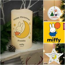 Personalised Miffy Christmas Xmas Gifts Tree Decorations Official Gifts
