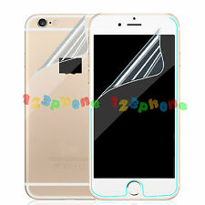 WHOLESALE FRONT + BACK PET CLEAR SCREEN PROTECTOR FOR IPHONE 6 6S PLUS 5.5""
