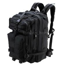 NEW OUTDOOR TACTICAL BACKPACK DURABLE CAMPING SHOULDER BAG HIKING PACK E8U2