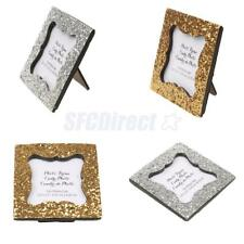 Exquisite Shiny Sequin Small Photo Frame Display Holder Container Special Gift