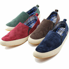 Mens Canvas Casual Slip On Loafer Shoes Moccasins Driving Zapato Fashion Shoes #