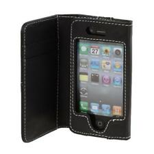 Soft Flip PU Leather Wallet Hard Case Cover Pouch Guard For iPhone 4 4G 4S