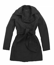 Bravesoul-Womens-Gianna-trench coat with tie belt-Self fabric tie waist belt
