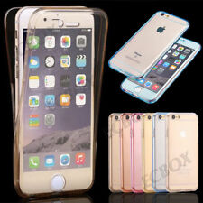 Slim Clear Soft TPU Front Back Full Body 360° Protective Case For iPhone Series