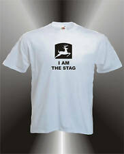 I AM THE STAG - MENS FUN STAG NIGHT T-SHIRT ALL SIZES