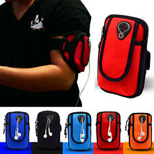 For Phones Sports Gym Cycling Running Jogging Wrist Arm Band Wallet Bag Case NEW