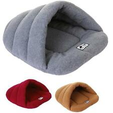 New ! Puppy Pet Cat Dog Nest Bed Puppy Soft Warm Cave Bed Sleeping Bag Mat Pad