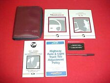 1997 MERCURY MOUNTAINEER ORIGINAL OWNERS MANUAL SERVICE GUIDE BOOK + CASE 97 KIT