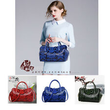 Chinese Style Women Embossing Classic PU Leather Handbag Messenger Bag Top-hand