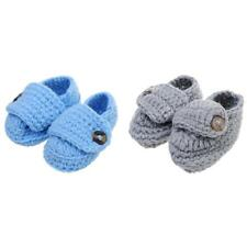 Warm Handmade Crochet Knitted Shoes Baby Boys Girls Infant Pre-Walker Xmas Gifts