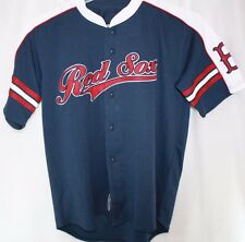 NEW Boys Kids Youth STITCHES Boston RED SOX Blue Stitched MLB Jersey