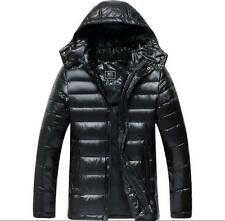 Men New hooded puffer down coat parka warm winter thickened jacket Parka M-9XL