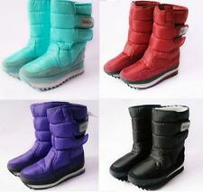 Women's Girls Winter Warm Lining Snow Casual Joggers Boots Shoes Size
