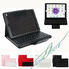 """PU Leather Stand Holder Case Cover Bluetooth Wireless Keyboard For iPad Pro 9.7"""""""