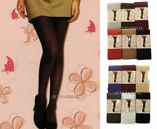 1, 2, 3 PK WOMEN LADY OPAQUE TIGHTS FOOTED PANTYHOSE UNDERWEAR REG N QUEEN SIZE