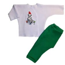 Unisex Baby Christmas Silly Dalmatian Clothing Outfit Preemie and Newborn Sizes