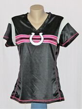 Indianapolis Colts Womens Jersey T-Shirt Black/Pink - NFL
