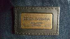 DOLCE&GABBANA Made in Italy dark wash JEANS - NWT - Size 32