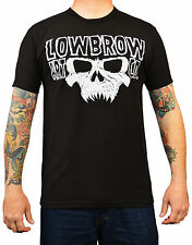 Men's Doom by Josh Stebbins Lowbrow Art Co Logo Skull Tattoo Artwork T-Shirt