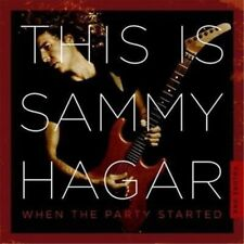 When the Party Started - Sammy Hagar Compact Disc