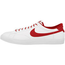 NIKE TENNIS CLASSIC AC SHOES TRAINERS WHITE RED BROWN 377812-122 AIR FORCE